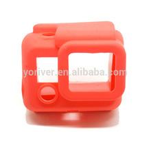 Silicon Gel Protective Case for Gopro Hero 3 Protective Dirtproof Silicone Case Cover Skin for GoPro hero3