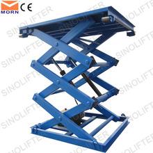 Hydraulic scissor lift loader 2t capacity