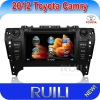 2 din Toyota Camry 2012 DVD GPS in Car with Radio Bluetooth iPod