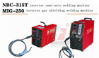 NBC-315T multi purpose inverter mig welding