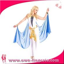 Trajes de danza del vientre indio del vientre vestidos Cleopatra vestido