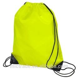 Cheap nylon foldable shopping bag,nylon drawstring bag