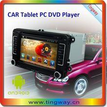 Hot Selling android 4.2 dvd gps navigation for VW Tiguan,SKODA Yeti 7 inch car DVD