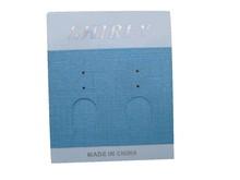 Best price custom printing kraft paper earring cards