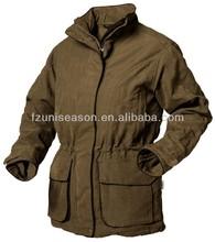 Waterproof winter hunting jackets