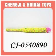 Funny plush mini toy baseball bat for kid play