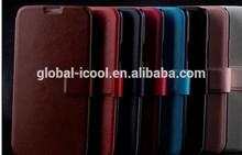 Wholesale retra credit card slot wallet detachable magnet leather case for iphone 4 4S case