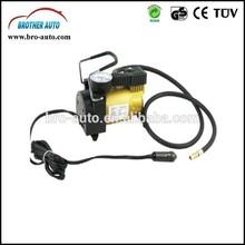 High quality 2015 hot sell DC12V/24V SINGLE CYLINDER 12v air compressor car tyre inflator