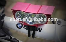 2014 newest 2200 lumen X3 M3 bike light / high quality bright bicycle light