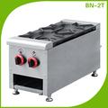 la cocina del hotel dos equipos gama quemador para cocinar la sopa