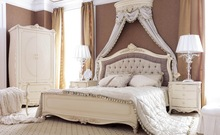 New bedroom bed with high quality made in china