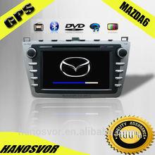 In Car DVD GPS Sat Nav Multimedia Mazda 6 Navigation