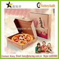 2014 comestível caixa de caixa de pizza, pizza delivery box, papel reciclado caixa de pizza