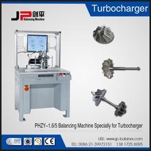 Jp turbo wheel turbine rotor balancing machine turbojet engine