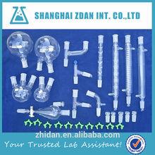 Borosilicate lab glassware apparatus for distillation