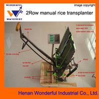 Wonderful brand mini manual efficient rice transplanter