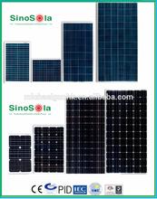 Good price mono/poly solar panel per watt made of high efficiency A-grade crystalline cells