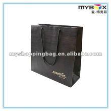 1C Matt Lamination Tote Gift Paper Bag Hot stamping