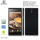 "MT6592 1.7 GHz Octa Core 5.5"" inch android smart phone city call android phone"