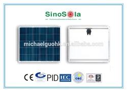 120v solar panel with TUV/IEC61215/IEC61730/CEC/CE/PID