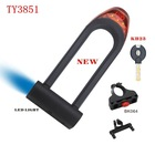 TY3851 New Model bike ulock with led light