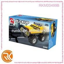 Mini pickup brick block toys, mini building blocks toys