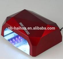RED Diamond 18w CCFL LED nail lamp