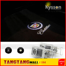 wireless car led door logo projector light ghost shadow light for Cadillac XTS ATS CTS SRX