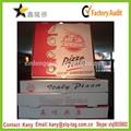 2014 pizza box personalizzato, pizza rotonda scatola, pizza cartoni scatola