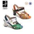 Lb1019f-d2071 para mujer barato atractivo del alto talón de la sandalia últimos modelos de calzado de moda de europa