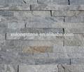 Newstar cultura quarzita revestimiento de piedra, china de cuarcita gris piedra cultivadas maderacontrachapada, ledgestone revestimiento de la pared