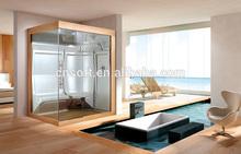 Art RoHS glass shower steam bathroom
