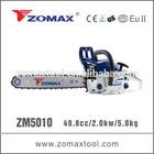 ZOMAX ZM5030 50cc 2.0kw kraftwelle chainsaw