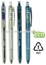 promotional Recycled PET pen,Novelty Promotional Eco friendly PET bottle Pen with logo