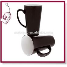 Factory Direct Sale 17oz Latte Dye Sublimation Mug, Black Color Changing Coffee Mug
