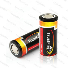 TrustFire 25500 4000mAh 3.6V/3.7v li-ion rechargeable batteries. Low discount!!