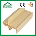 Plástico reciclado piso de madeira painel banco de madeira ce, Sgs, Ani UV