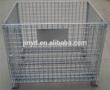 steel storage wire mesh cage