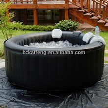 hot selling inflatable small pool water slide with air massage
