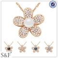 Prezzo di fabbrica collana di perle, austria artificiale monili della perla