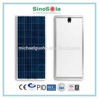 price per watt polycrystalline silicon solar panel with TUV/IEC61215/IEC61730/CEC/CE/PID