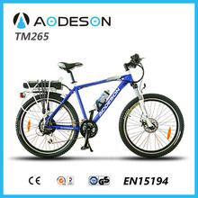"""26"""" wheel 36v 10ah lion, 250w brushless motorbike mtbTM265 for sportman"""