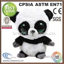 Best made hot sale big eyes stuffed panda