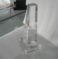 Hot Sell High Polished Acrylic Chair Legs/Clear Acrylic Table Leg Dinning/Acrylic Dressing Table Leg