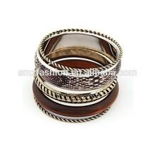 Factory OEM custom design snake leaher bracelet