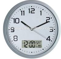 Round Digital Wall Clock LG8210