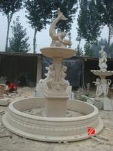 Garden mermaid water fountain decoration