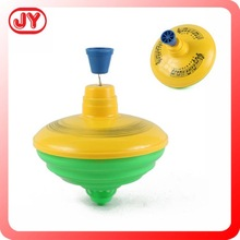Funny style toys plastic spinning top with EN71 and customized design for sale for kids