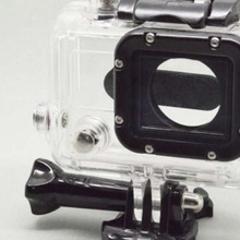 wholesale Go pro Waterproof hard case housing shell 45 meters Diving for Gopro Hero 3 drop shipping