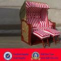 Promocional projeto de vime de telhado cadeira de praia